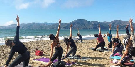 Saturday Groove : Beach Yoga with Sarah Allison! tickets