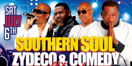 Fourth Of July Weekend Southern Soul, Zydeco and Comedy Fest Longview Texas tickets