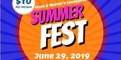 Dave & Buster's Louisville Summer Fest!