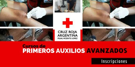 Curso Primeros Auxilios Avanzados 09 de Noviembre (8.30 a 13.30hs) entradas