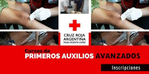Curso Primeros Auxilios Avanzados 09 de Noviembre (8.30 a 13.30hs)