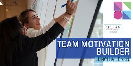 Team Motivation Builder tickets