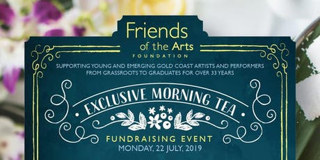 Friends of the Arts Morning Tea tickets