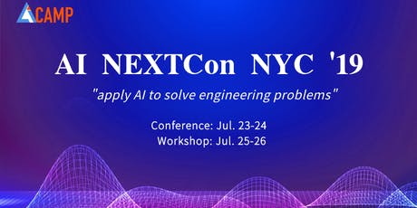 AI NEXTCon Conference NYC 2019 tickets