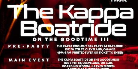 Cleveland Alumni Kappa Alpha Psi Boatride tickets
