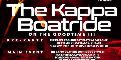 Cleveland Alumni Kappa Alpha Psi Boatride