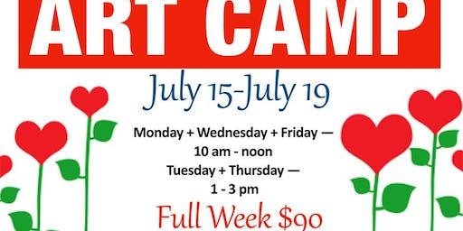 July Art Camp
