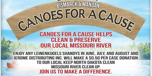2nd Annual Canoes For A Cause Missouri River Clean Up