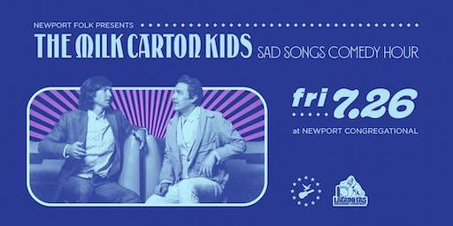 Newport Folk Presents® The Milk Carton Kids Sad Songs Comedy Hour