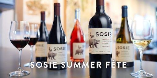 Sosie Wines Summer Fête! Saturday, June 22