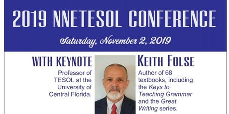 2019 NNETESOL Fall Conference PUBLISHERS/EXHIBITORS tickets