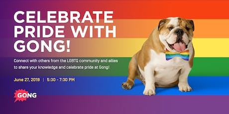 Celebrate Pride with Gong.io tickets