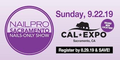 NAILPRO Sacramento Nails-only Show 2019