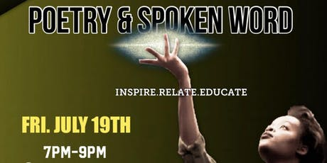 Poetry & Spoken Word (July 19th) tickets
