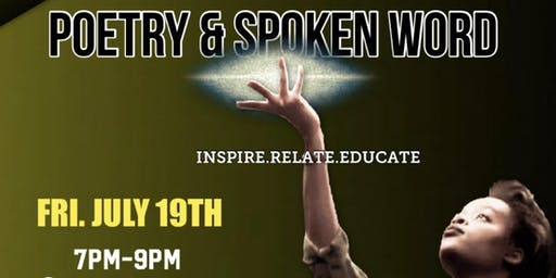 Poetry & Spoken Word (July 19th)