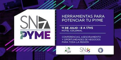 SN PyME 2019 entradas