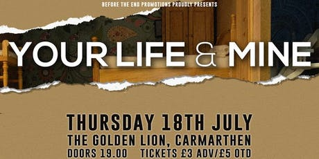 your life and mine + seasons plus guests tickets