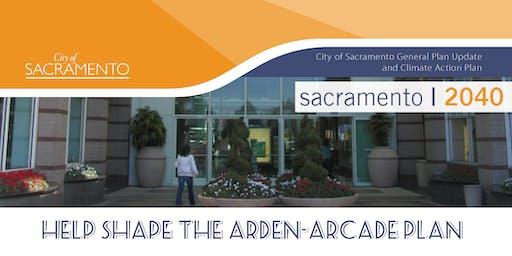 Sacramento 2040 | Arden-Arcade Community Plan Area Meeting