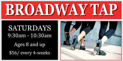 Broadway Tap Class