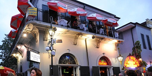 Krewe of Bacchus Sunday: Mardi Gras Party on a Bourbon Street Balcony