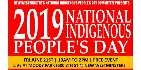 National Indigenous People's Day Celebration 2019 tickets