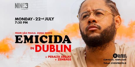 EMICIDA IN DUBLIN tickets