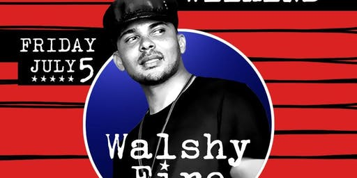 4th of July Friday with Walshy Fire at WALL Lounge Miami