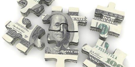 "UNDERSTANDING FINANCES - A Dinner Series - #2 ""Mortgages & Loans"" tickets"