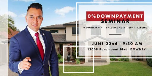 FREE 0% DOWN PAYMENT FIRST TIME HOMEBUYER SEMINAR