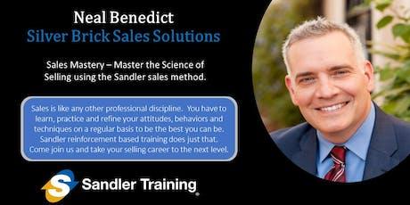 Sandler - Sales Mastery  tickets