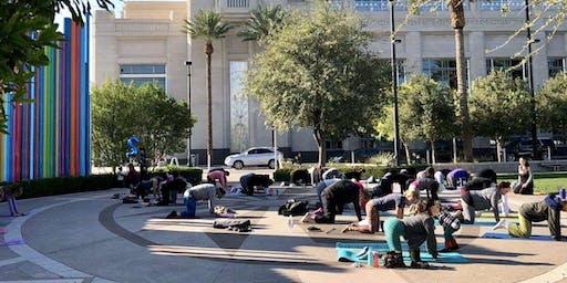 Yoga at Symphony Park
