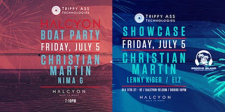 Christian Martin Boat Party tickets