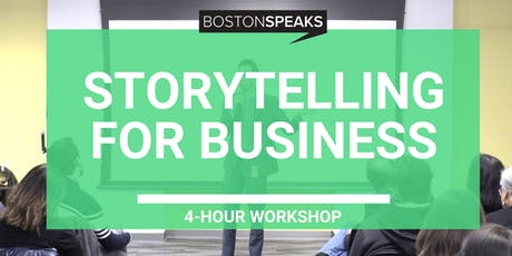 Storytelling For Business tickets