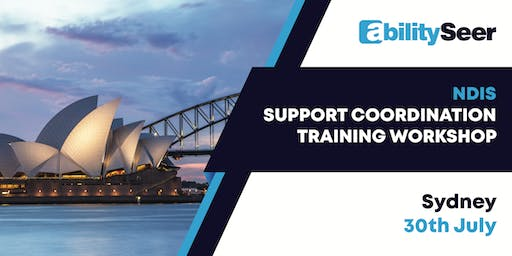 NDIS Support Coordination Training Workshop - 30 July 2019, Sydney
