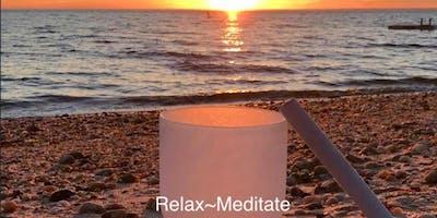 Crystal Bowl Sound Healing Meditation 8/14/19