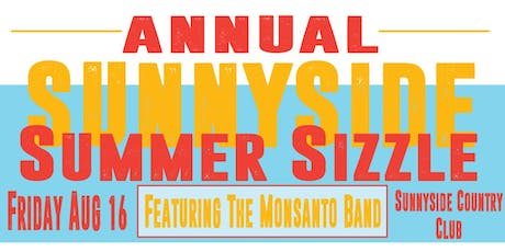 Sunnyside Summer Sizzle 19 tickets