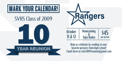 Smithson Valley High School Class of 2009 Ten Year Reunion