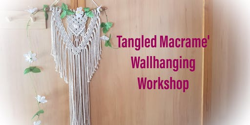 Macrame Wall Hanging Workshop Edenvale