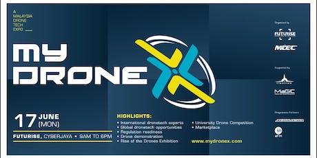 MyDroneX tickets