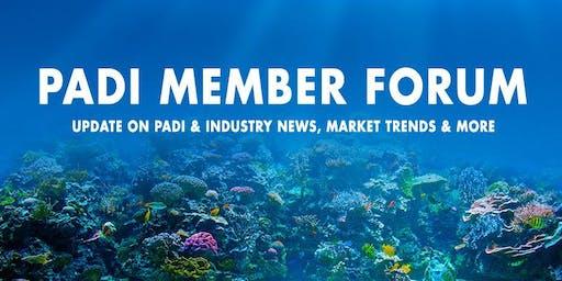 PADI Member Forum 2019 - Perth