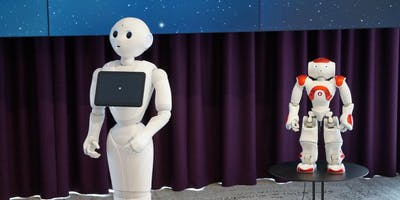 Shake Hands with Robots Pepper & Nao (8+ years) at Parramatta Library