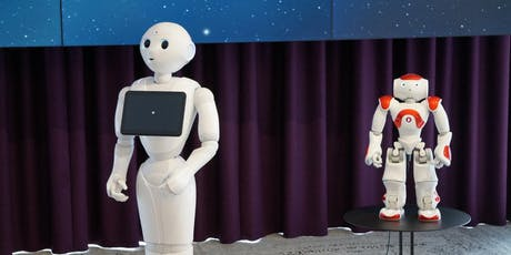 Shake Hands with Robots Pepper & Nao (8+ years) at Parramatta Library  tickets