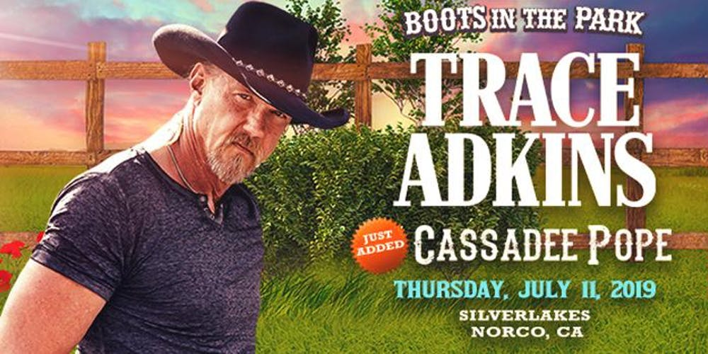 d705c00ec798a Boots in the Park - SilverLakes with Trace Adkins
