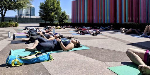 Yoga at Symphony Park