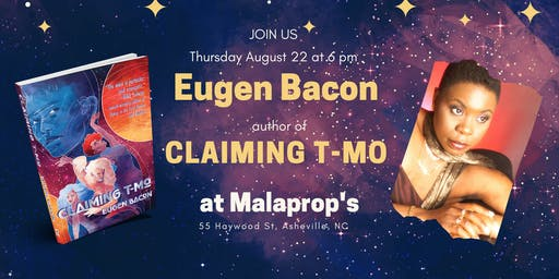 Eugen Bacon at Malaprop's
