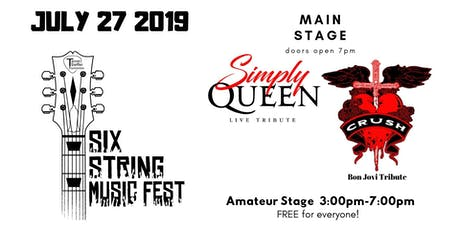 Six-String Music Fest 2019 tickets