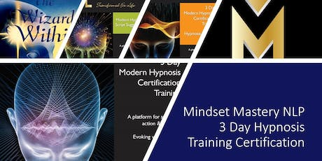 3 DAY HYPNOSIS CERTIFICATION - OCT 11TH - 13TH 2019 tickets