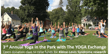 3rd Annual Yoga in the Park with The YOGA Exchange for KLS Research tickets