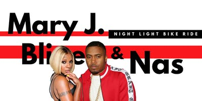 Mary J. Blige & Nas  |  Night Light Bike Ride