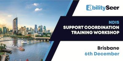 NDIS Support Coordination Training Workshop - 6 December 2019, Brisbane